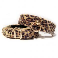 Hunde-Halsband Animal braun (Gr.XS,M,L)