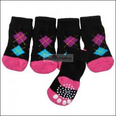 Hunde-Socken Burbington schwarz