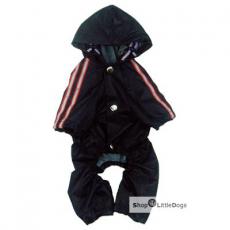 Hunde-Regenanzug Navy dunkelblau