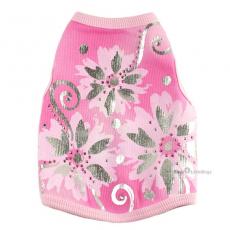 Hunde-Top Wild Floral rosa (Gr.M,L)