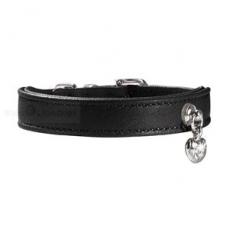 Hunde-Halsband Elk Crystal schwarz (Gr.S)