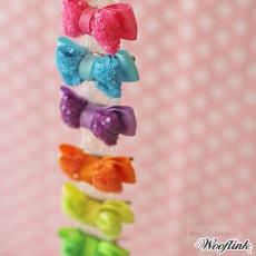 Haarschleife Delicious versch. Farben