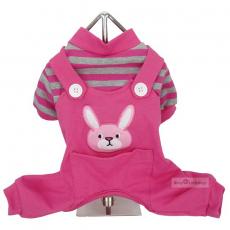 Hunde-PJ Bunny pink (Gr.XS)