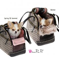 Hundetasche Luxury Bag black