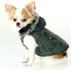 Hundejacke Action grün (Gr.XS,S,XL)