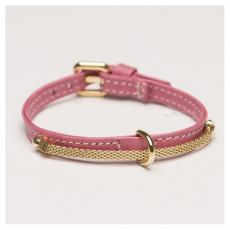 Collar Brigitta rosa (Gr.L)