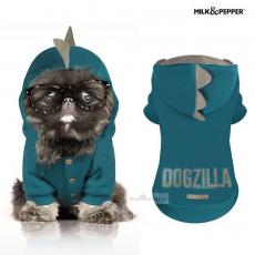 Hundesweater DOGZILLA petrol (Gr.26,28)