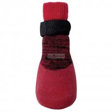 Hundeschuhe/ Socken In & Out rot (Gr.XS)