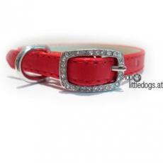 Hunde-Halsband Yummy rot (Gr.XXS,M)