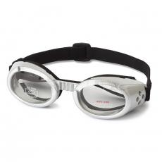 Hunde-Sonnenbrille Metallic silber
