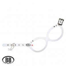 Buddy Belt Luxury BB WHITE weiß