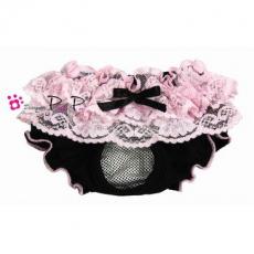 Schutzhöschen Romantic schwarz-pink (Gr.M,L)