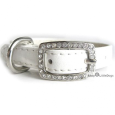Hunde-Halsband Yummy white