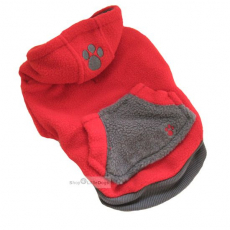 Hunde-Pullover Sports rot (Gr.XS)