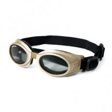 Sonnenbrille Shiny Chrome beige