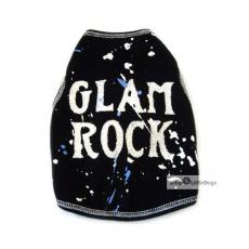 Hundetop Glam Rock schwarz (Gr.L)
