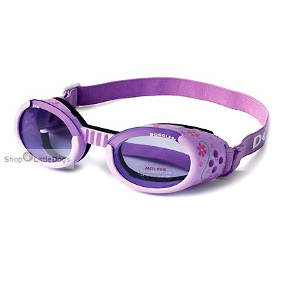 Hunde-Sonnenbrille 'Flower' lila