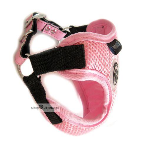 Hunde-Softgeschirr 'Bébé' pink