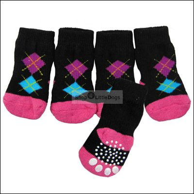 Hunde-Socken 'Burbington' schwarz