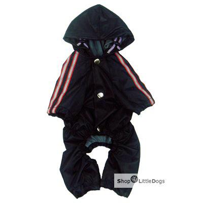 Hunde-Regenanzug 'Navy' dunkelblau