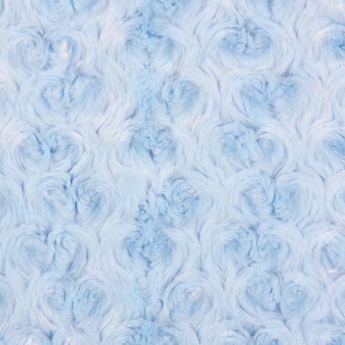 Carrier-Plaid 'PUPPY BLUE' babyblau