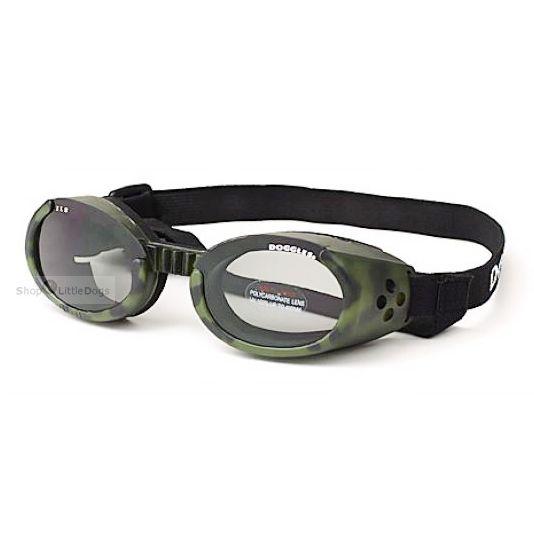 Hunde-Sonnenbrille 'Camo' grün