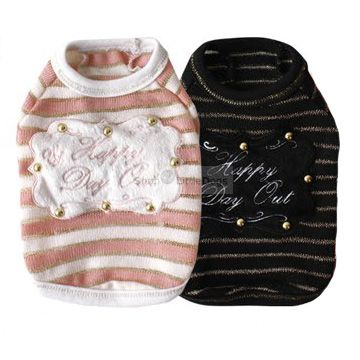 Pullover 'Happy Day' schwarz, pink