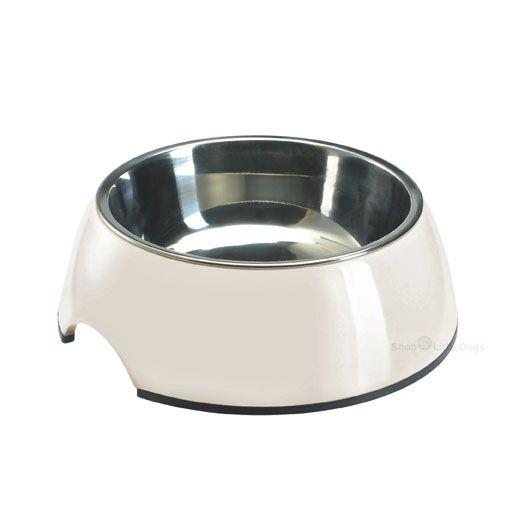 Hunde-Fressnapf 'Bianco' weiß