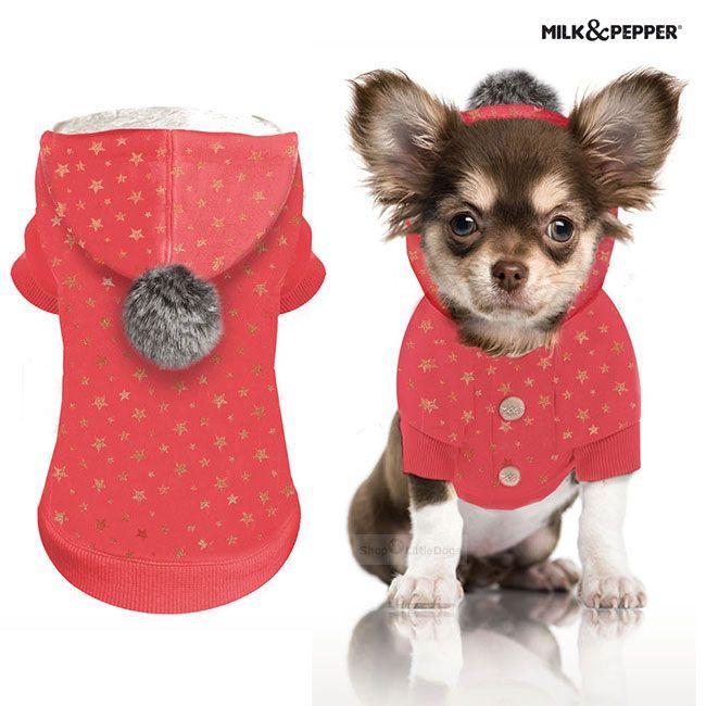 Hundesweater 'LUNA' coral