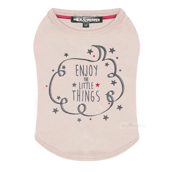 Shirt 'Enjoy' rosé