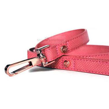 Leine 'NAJA' pink-kroko