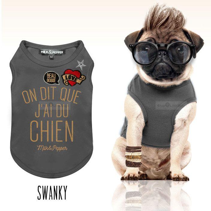 Shirt 'Swanky' dunkelgrau