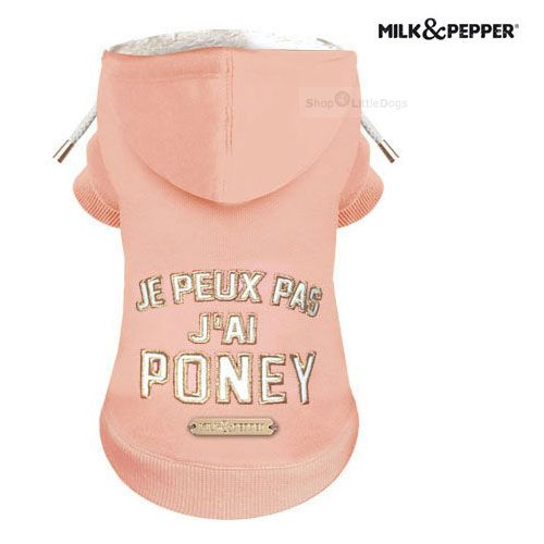 Sweater 'PONY' lachsrosa (Gr.26,28)
