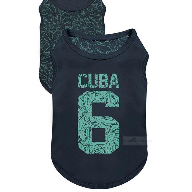 Wende-T-Shirt 'CUBA' dunkelblau