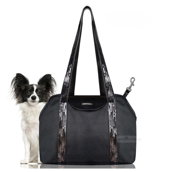 Hundetasche 'EDEN' schwarz