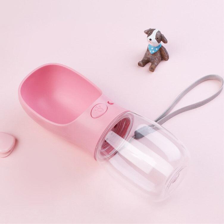 Hunde Wasserspender 'Pink'