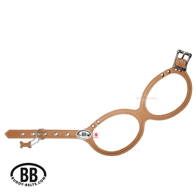 Buddy Belt Premium 'BB CARAMEL' braun