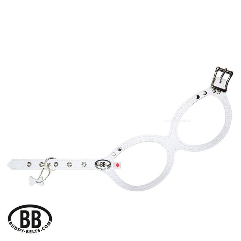 Buddy Belt Luxury 'BB WHITE' weiß