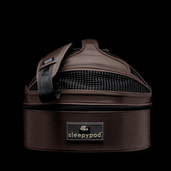 'SleepyPod' dark chocolate