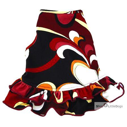 Hunde-Kleid 'Ruby' (Gr.XXS)