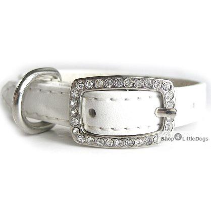 Hunde-Halsband 'Yummy' white