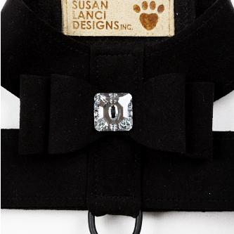Hunde-Geschirr 'Big Bow' schwarz