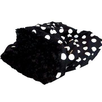 Snuggle 'Big Dotty' schwarz-weiß