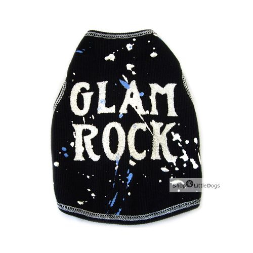 Top 'Glam Rock' schwarz (Gr.L)
