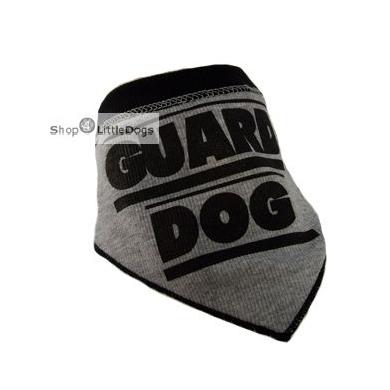 Hundehalstuch 'Guard Dog' grau (Gr.M)
