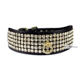Hunde-Halsband Luxury schwarz