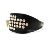Hunde-Halsband 'Luxury' schwarz
