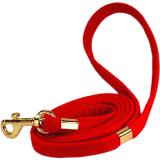 Hunde-Halsband & Leine 'Le Rouge' rot, im Set