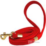 Hundeleine Rouge Velvet rot