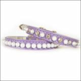Hunde-Halsband Lullaby lila (Gr.XS,S)